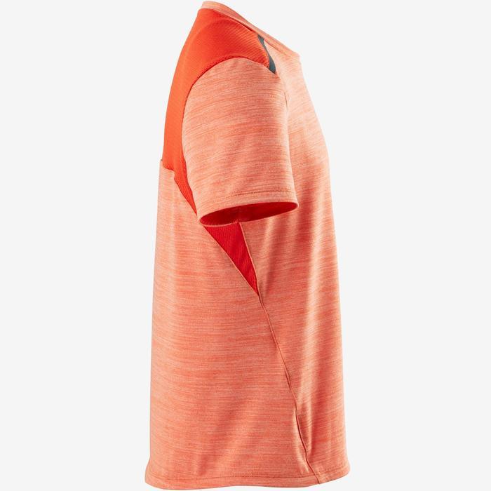 T-Shirt Synthetik atmungsaktiv S500 Gym Kinder orange
