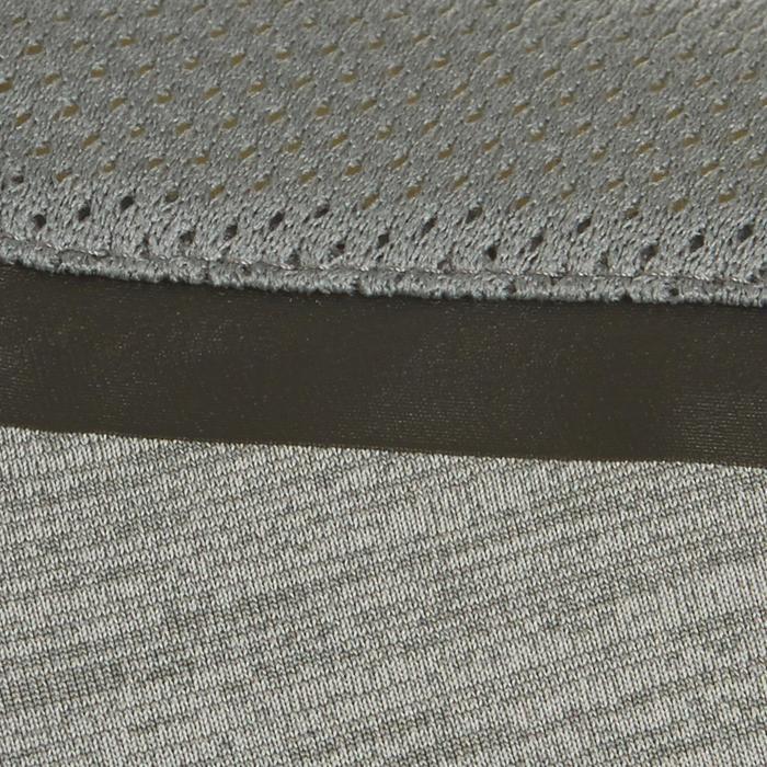 T-Shirt Synthetik atmungsaktiv S500 Gym Kinder grau