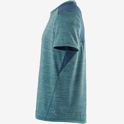 T-shirt synthetisch materiaal ademend S500 jongens GYM kinderen lichtblauw