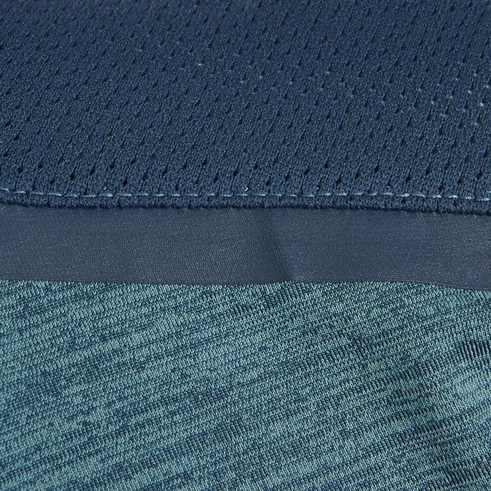 T-Shirt synthétique respirant manches courtes S500 garçon GYM ENFANT bleu clair