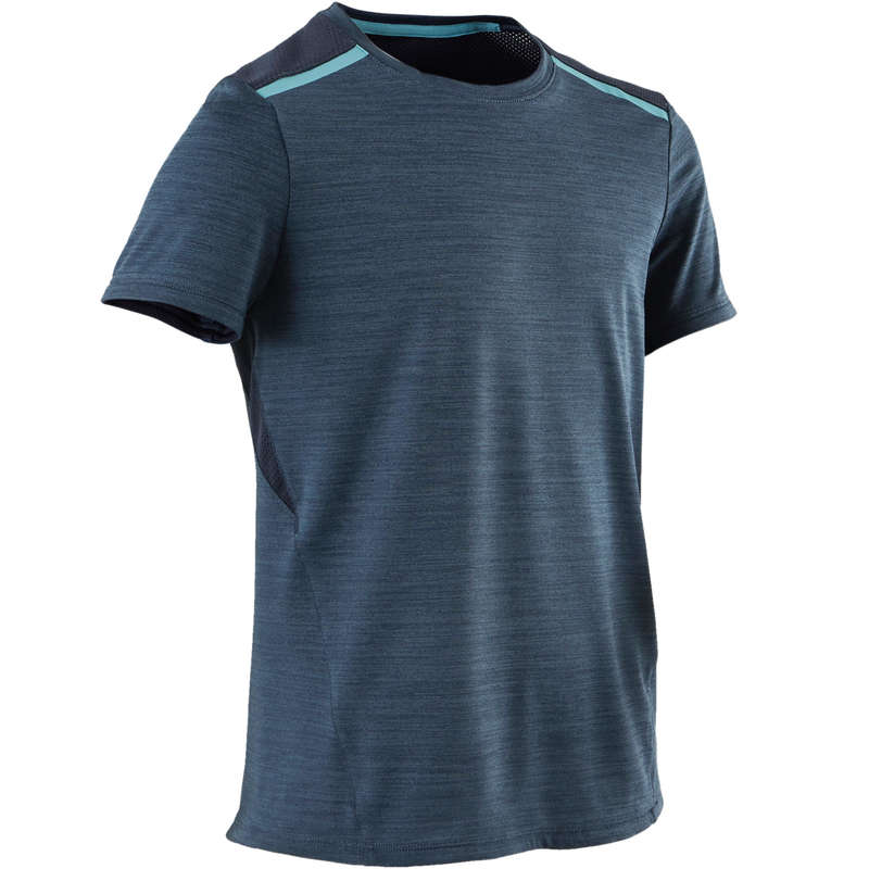 Ginástica - T-shirt Ginástica S500 B Azul DOMYOS
