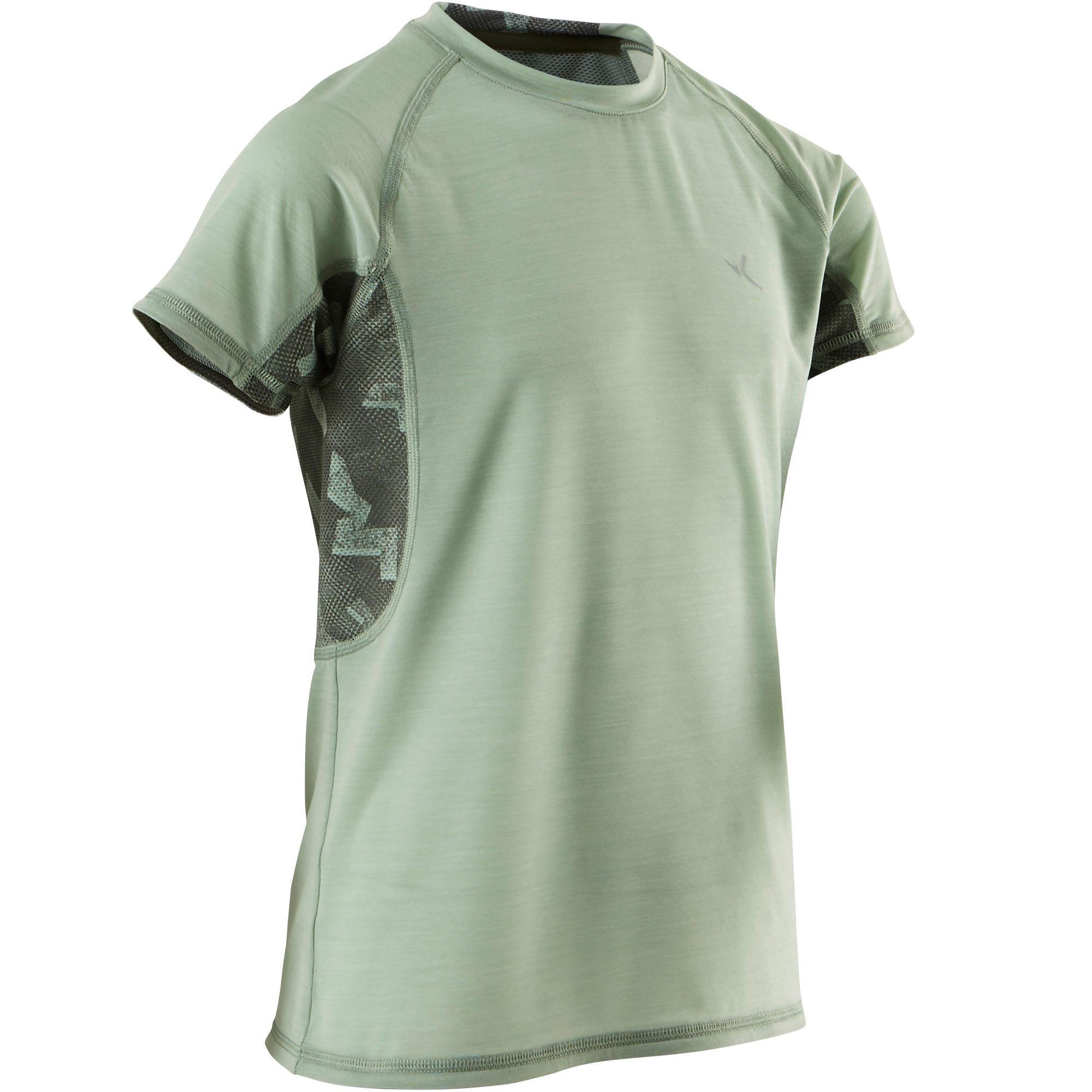 521046d76250f Domyos T-Shirt respirant manches courtes S900 garçon GYM ENFANT   Decathlon