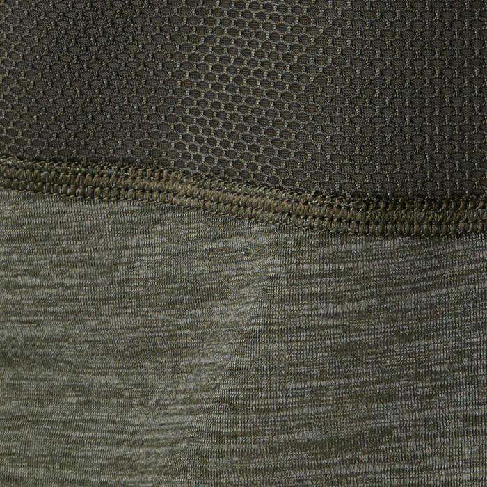 T-Shirt respirant manches courtes S900 garçon GYM ENFANT kaki