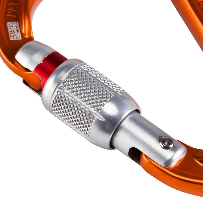 Mousqueton attache petzl