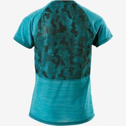 T-Shirt atmungsaktiv S900 Gym Kinder blau