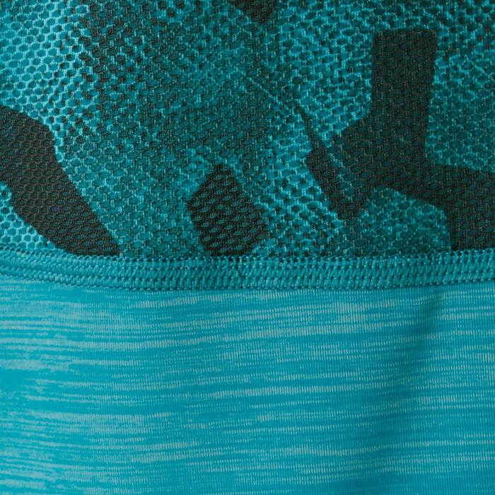 be1ec16937c Camiseta de Manga Corta Gimnasia Domyos S900 Transpirable Niño Caqui ...