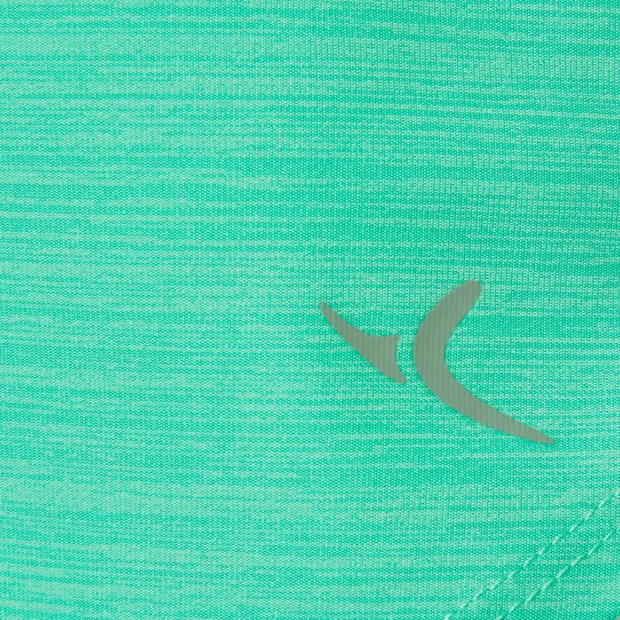 T-Shirt synthétique respirant manches courtes S500 fille GYM ENFANT vert