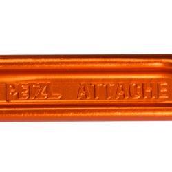 Mousqueton attache petzl