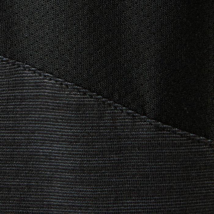T-Shirt Baumwolle atmungsaktiv 500 Gym Kinder schwarz