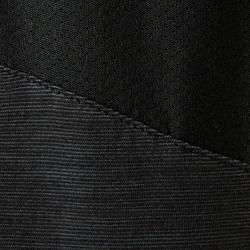 T-shirt korte mouwen ademend katoen 500 jongens GYM KINDEREN zwart