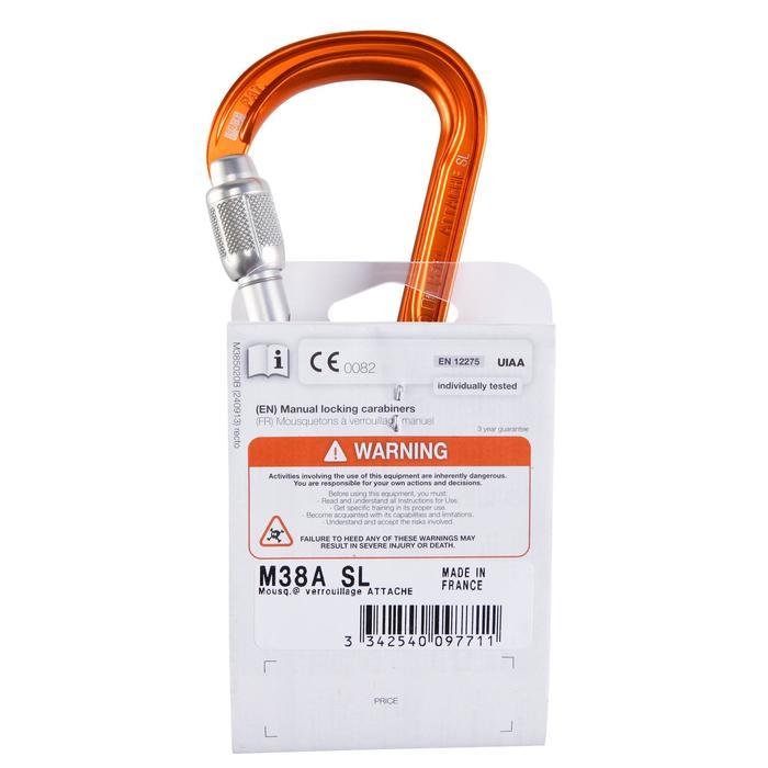 Mousqueton attache petzl - 158953