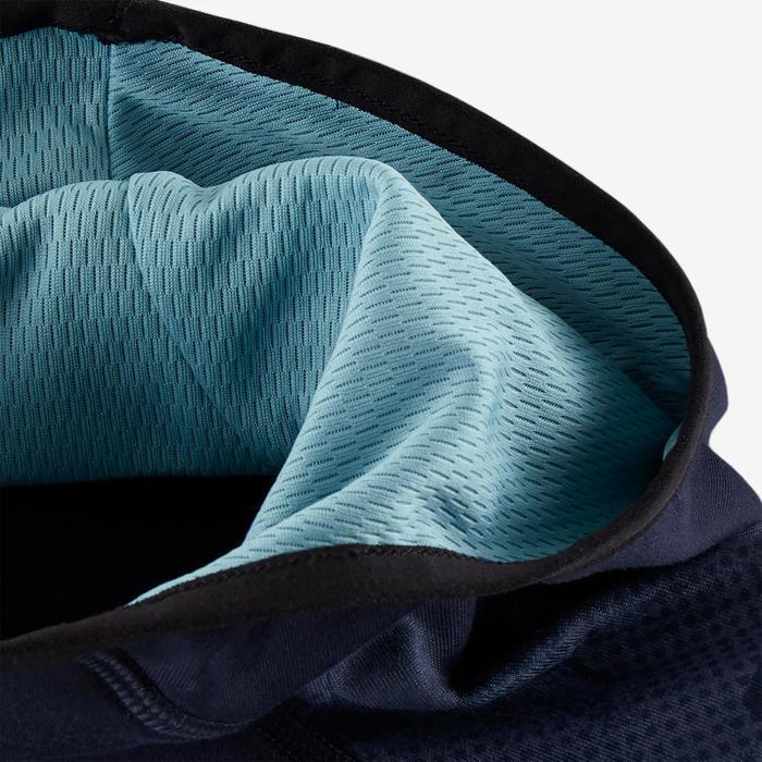 Sweat capuche chaud, synthétique respirant S500 garçon GYM ENFANT bleu