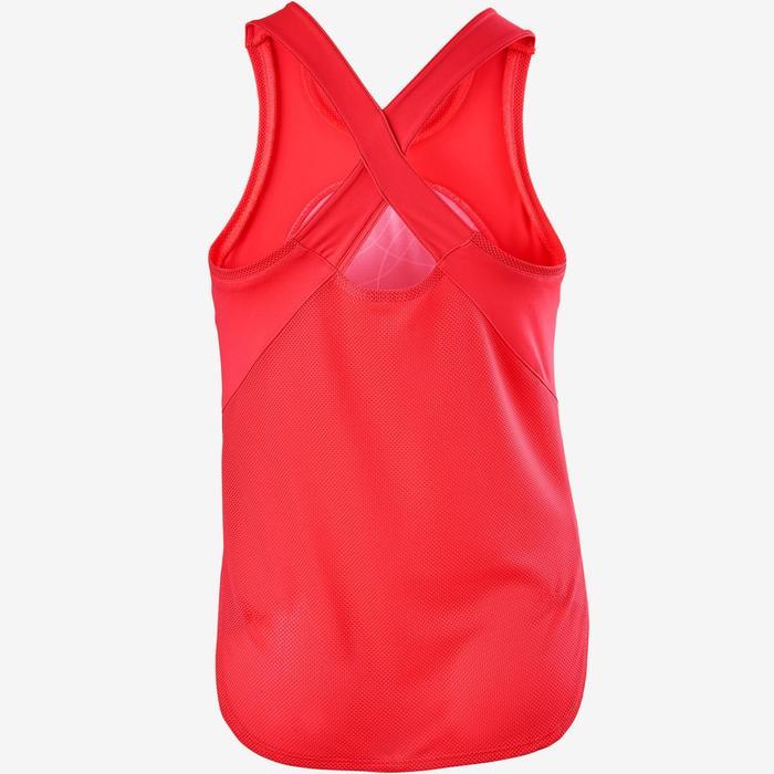 Ademende top S900 meisjes GYM KINDEREN roze AOP