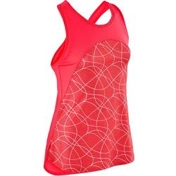 Top atmungsaktiv S900 Gym Kinder rosa AOP