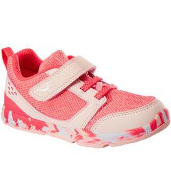 Zapatillas Bebé flexible Domyos I Move 550 coral rosa tallas 25 al 30