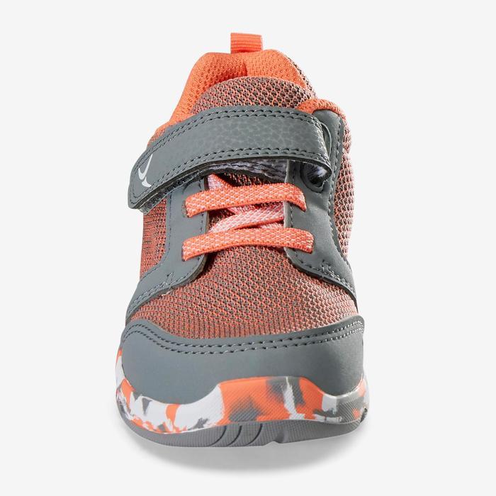 Gymschoentjes 550 I Move knit grijs oranje/xco