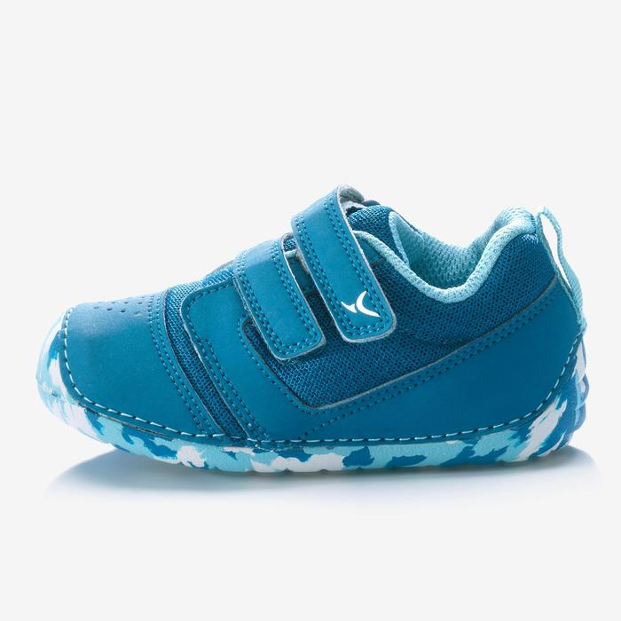 Zapatillas Gimnasia Bebé Domyos 520 I Learn Breath Bebé Azul
