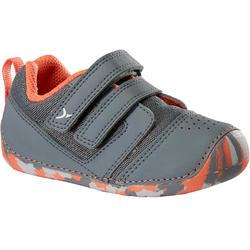 Gymschoenen Schoentjes maat 20 to I Learn voor kleutergym grijs oranje