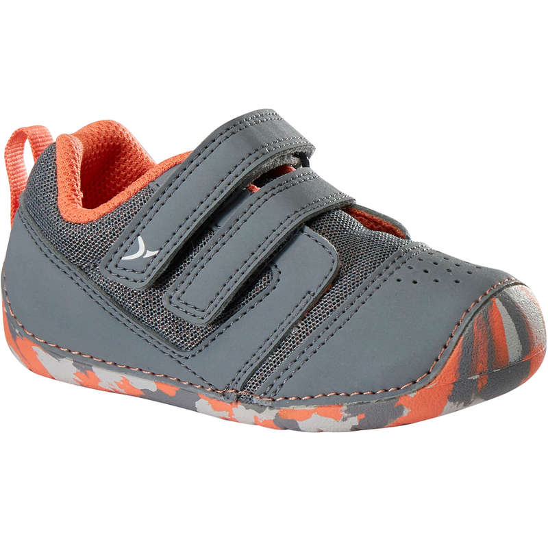 BABY GYM FOOTWEAR Baby and Toddlers - 510 I Learn Breathable Shoes DOMYOS - Baby and Toddlers