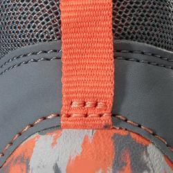 Schoentjes 510 I Learn Breath voor kleutergym grijs oranje xco