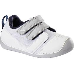 Zapatillas 510 I LEARN BREATH GIMNASIA blanco/azul marino