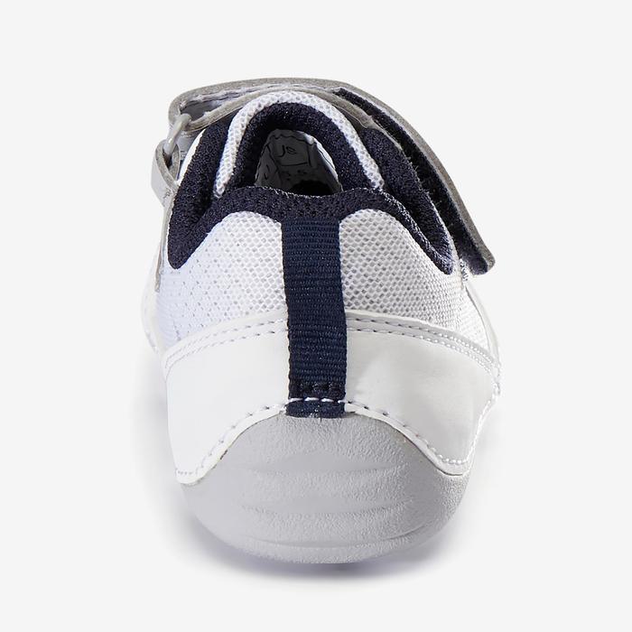Gymschoentjes 510 I Learn Breath wit/marineblauw