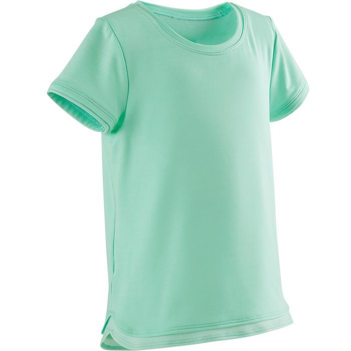T-shirt met korte mouwen voor kleutergym S500 Keep In Up groen