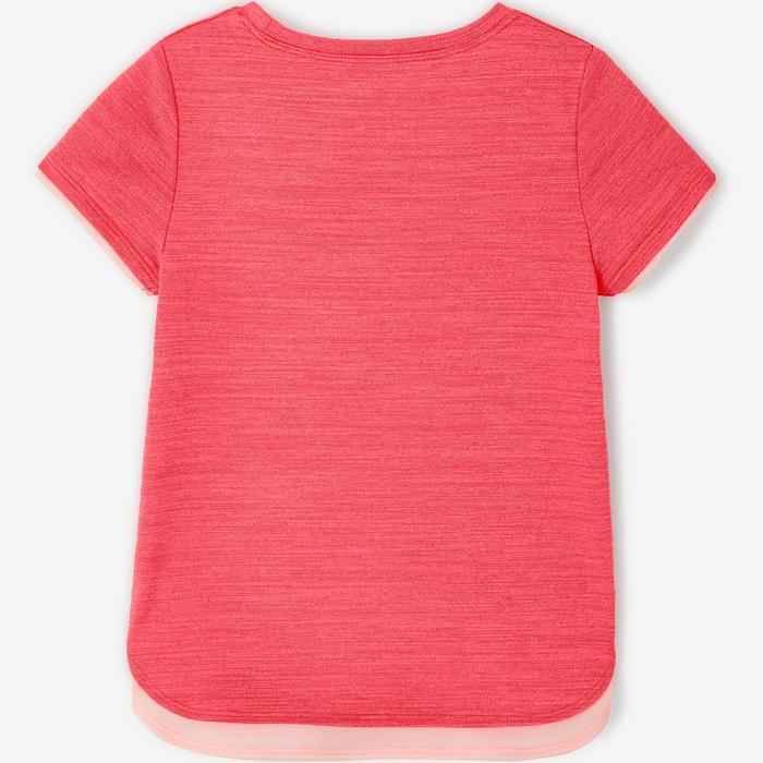 T-shirt manches courtes baby gym S500 Keep In Up Rose