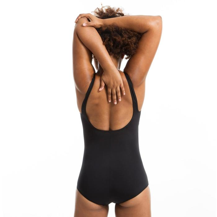 Corrigerend badpak voor aquagym Mary zwart