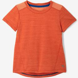 T-shirt manches courtes Baby Gym S500 Orange