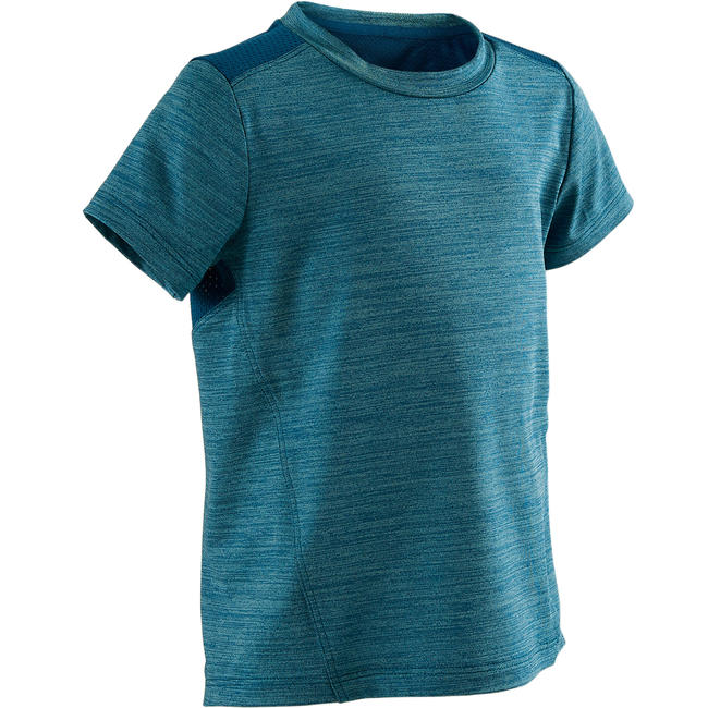 Short-Sleeved T-ShirtS500 - Blue/Prussian blue