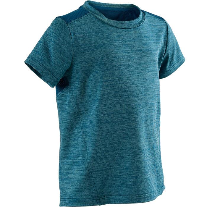 T-shirt manches C. S500 Bleu de Prusse