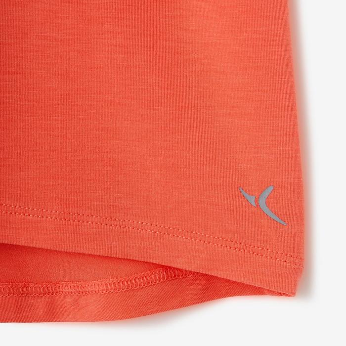 T-Shirt 500 Dry Babyturnen orange