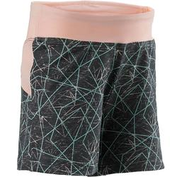 Shorty baby gym S500 Gris/Rose