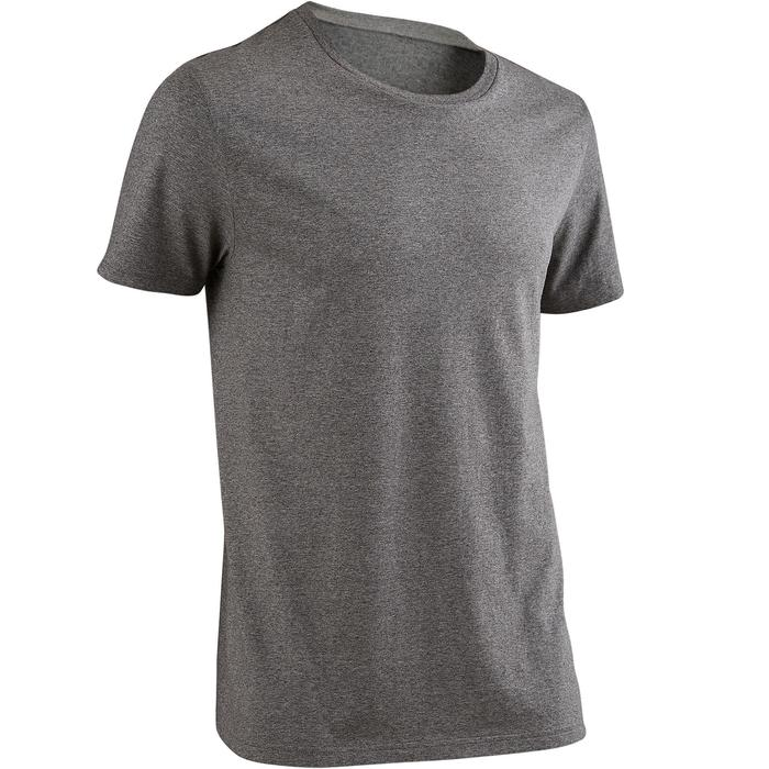 TS Sportee 100 Pilates Gym douce homme gris chiné