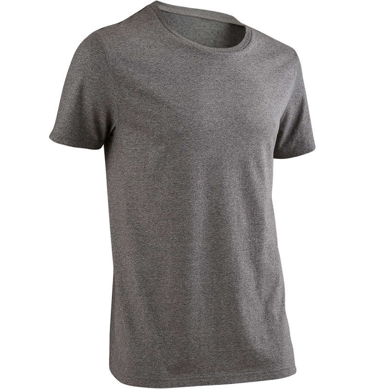 MAN GYM, PILATES APPAREL - Gym T-Shirt 100 - Grey