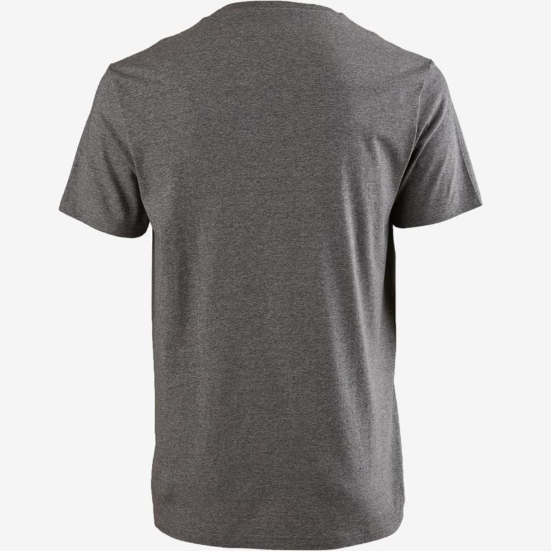 Siva muška sportska majica kratkih rukava 100