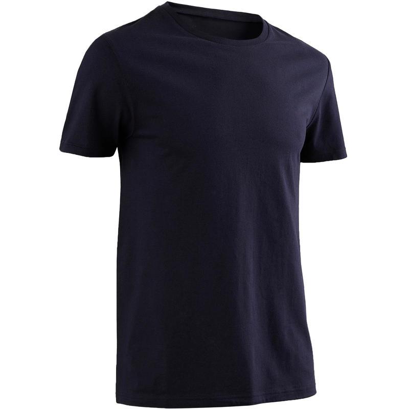 Men's 100% Cotton T-Shirt Sportee - Dark Blue