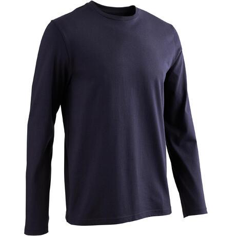 Homme Shirt Longue Manche Bleu T ordexBC