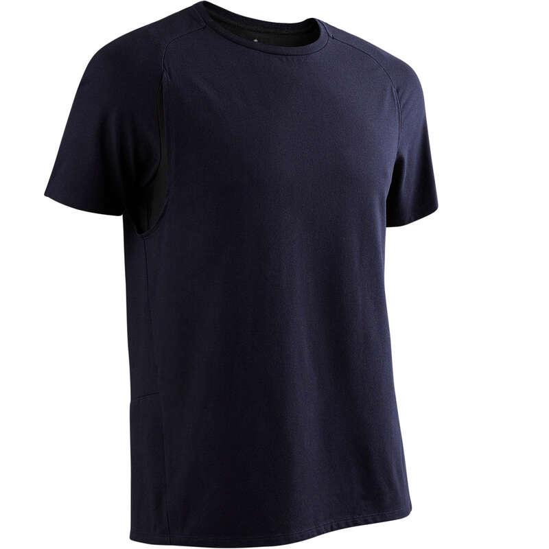 T-SHIRT SHORT DLA MĘŻCZYZN Gym, pilates - Koszulka540 NYAMBA - Fitness