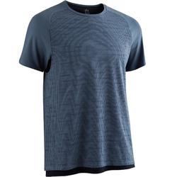 T-Shirt Free Move 540 Pilates Gym douce homme bleu AOP