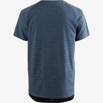 T-Shirt Free Move 540 Pilates Gym douce homme bleu AOP