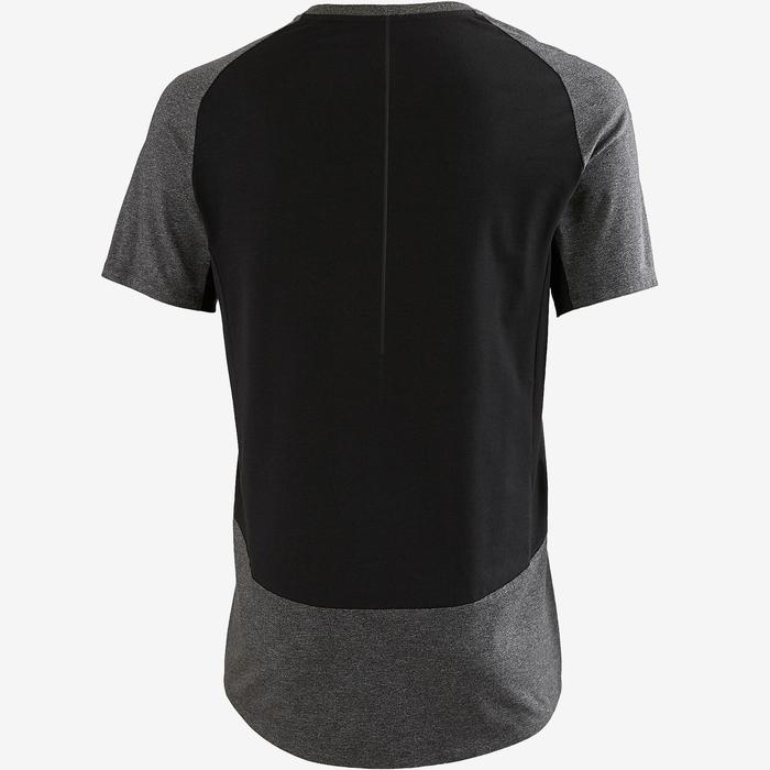 T-Shirt560 Gym & Pilates Herren dunkelgrau meliert