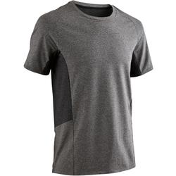 560 Pilates & Gentle Gym T-Shirt - Light Grey