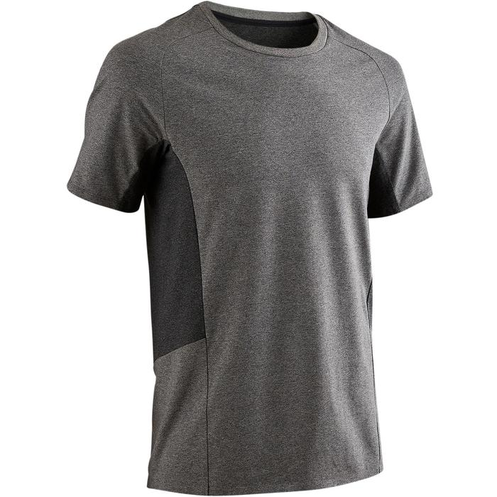 T-Shirt 560 Pilates Gym douce homme gris clair