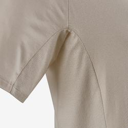 Camiseta 560 Pilates y Gimnasia suave hombre beige