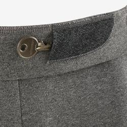 溫和健身與皮拉提斯緊身短褲560 - 淺灰色