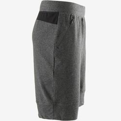 Short 560 slim Pilates Gym douce homme gris foncé