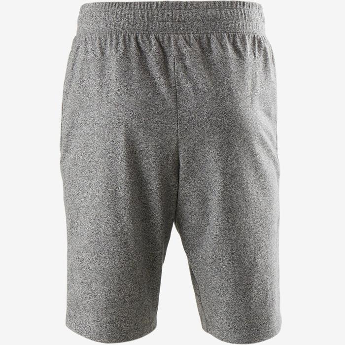 Short 520 slim Pilates Gym douce homme gris clair