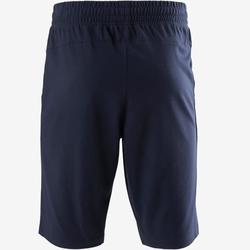 Short Sport Pilates Gym Douce Homme 520 Long Slim Bleu Foncé